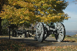 West Point Canons in the Fall