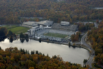Aerial Michie Stadium