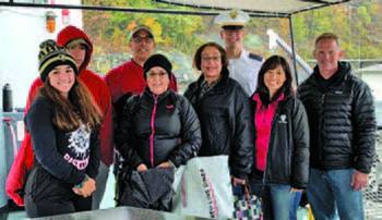 Tailgates and Present Donations on Family Weekend