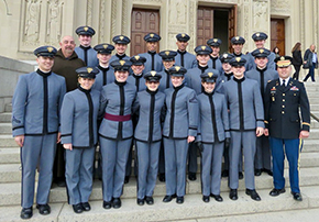 Cadets Visit Basilica of the Shrine