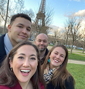 Cadets Visit France for Cultural Capstone