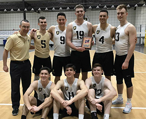 Men's Army Volleyball at the Midwest D2 Invitational