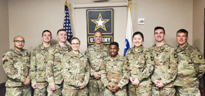 Firsties Visit Army South for Capstone Research
