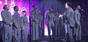 Cadet Gospel Choir Performs at BEYA STEM Conference