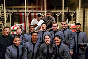 "Cadets Travel to NYC for ""A Soldier's Play"""