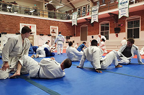 Judo Hosted by the Royal Military College