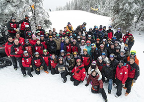 West Point Ski Patrol Visit Mount Snow