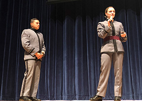 Cadets at the Holocaust Studies Symposium
