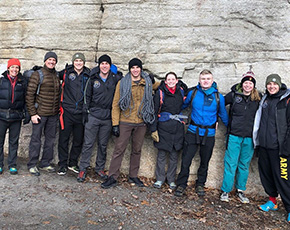 Mountaineering on Shawangunk Ridge