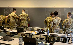 Cadets Learn about Redistricting and Gerrymandering