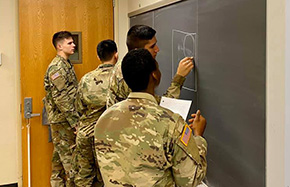 Cadets Learn About the Bureaucratic Process