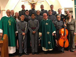 Catholic Chapel Choir Annual Outreach Event