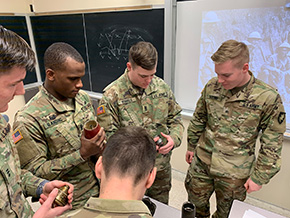 Cadets Learn of Innovations that Impacted WWI