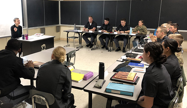 Cadets at West Point During COVID-19 Quarantine