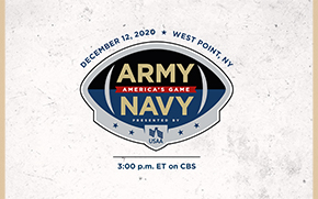 2020 Army-Navy Game Presented by USAA to be Played at West Point
