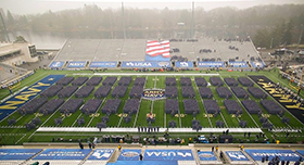 Army Shuts Out Navy 15-0 in Historic Win