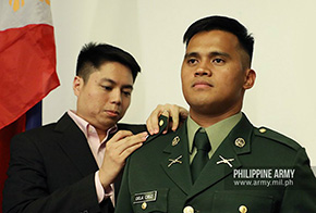 Reniel dela Cruz '19 to Join Philippine Army