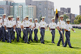 Class of 2025 Accepted into Corps during Acceptance Day