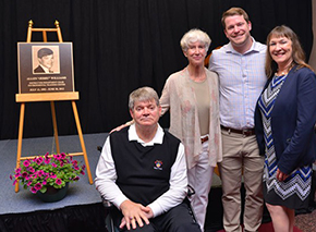 Williams '72 Inducted Into Owens Campus Hall of Fame