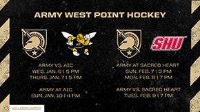 Army Announces Hockey Schedule Changes