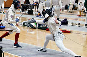 Army Fencing Defeats the Royal Military College