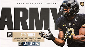 Army Football vs. Air Force Rescheduled for Dec. 19