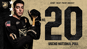 Army Hockey Ranks 20th in USCHO.com Poll