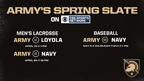Army Men's Lacrosse and Baseball Contests to be Played on CBSSN