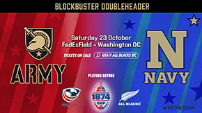Army-Navy Men's Rugby Match Added to the 1874 Cup