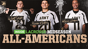 Army Trio Earns Inside Lacrosse Midseason Honors