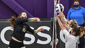 Army Volleyball Wins Third Straight