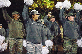 West Point Cadets Cheers