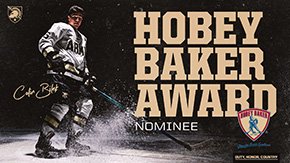 Bilek Among Nominees for Hobey Baker Award