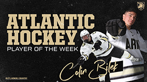 Bilek Named Atlantic Hockey Player of the Week