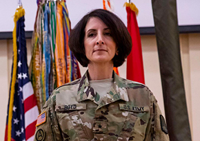 Boyd '89 Promoted to Brigadier General