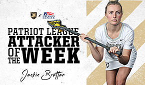 Brattan Named Patriot League Attacker of the Week