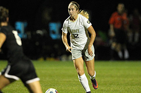 Women's Soccer Shuts Out American, 5-0