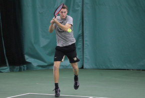 Doubles Dominance Leads Men's Tennis Over Sacred Heart