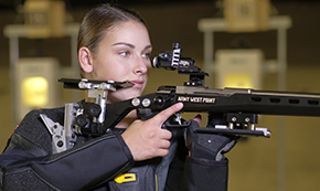 #11 Army Rifle Posts Season High to Top #4 Akron