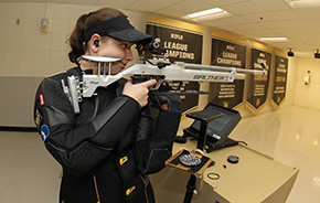 Rifle Wins NCAA Qualification Match Over MIT and Coast Guard