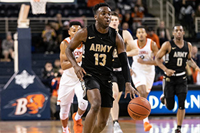Offensive Barrage Powers Black Knights Past Lafayette, 94-74