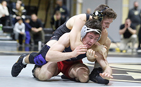 Wrestling Defeats Penn in Dual Match