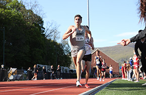 Men's Track & Field Place Second at PL Championship
