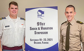 CDT Quesnel Presents at the Shock & Vibration Symposium