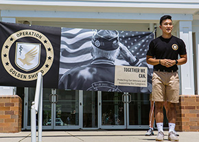 CDT Suh '23 Founds Operation Golden Shield