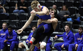 Wrestling Takes Two of Three Matches at Host Duals