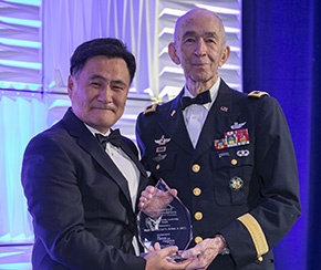 MG(R) McNair '55 Honored with 2019 Community Leadership Award