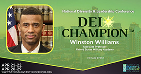COL Williams Recognized as the DEI Champion Awardee