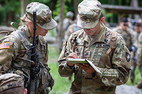 Cadet Field Training at West Point