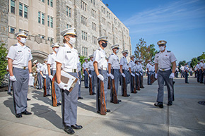 Cadet In-Ranks Inspection
